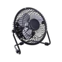 Buy cheap 8 inch black antique electric metal table USB mini fan with 220V / 50Hz or 110V / 60Hz from wholesalers