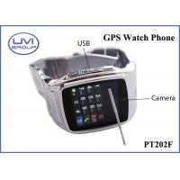 Wholesale PT202F Touch Screen Real Time Wireless GPS Wrist Watch Tracker with Video, Java, WAP, Photo Editor from china suppliers