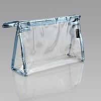 Buy cheap Clear PVC Plastic Bag Ladies Toiletry Travel Vinyl Zipper Bags ECO - Friendly from wholesalers