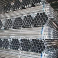 Wholesale ASTM A53 PRE GALVANIZED ROUND STEEL pipe made in China market exporter mill factory from china suppliers