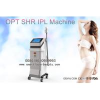 Wholesale Vertical One Handle SHR IPL Hair Removal Machine With U.K. Lamps 1 Million Shots from china suppliers