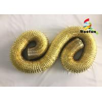 Wholesale Copper Large Diameter Extractor Hood Ducting Aluminum Foil For Air Cooling from china suppliers