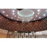 Wholesale Lobby Pop Wall Decor PVC 3D  Background Wall for Sofa / TV Background from china suppliers