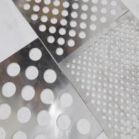 Quality 600*600mm decorative ceiling perforated metal  /  patterned architectural perforated sheet for sale