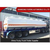 Wholesale 9000 Gallon Fuel Tanker Semi Trailer Optional Dimension High Strength Steel Material from china suppliers