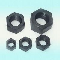 Wholesale Carbon Steel Nuts, Available in Black, Galvanized, Nickel, Cadmium and Teflon Plating from china suppliers