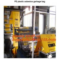 BUILDING FILMS, Asbestos bag, PE asbestos bag, building waste bag asbestos bag, building waste bag asbesto, rubble sacks