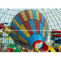 Wholesale Customized Adults Fiberglass Water Park Tornado Slide 14.6m Height for Water Park from china suppliers