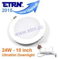 Wholesale 10 inch 24W LED Downlight Ceiling Lights Recessed lights Round panel lights from china suppliers