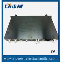 Wholesale Rack Mountable COFDM Receiver HD / SD Wireless Audio Video System from china suppliers