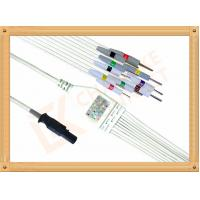 Wholesale Burdick Quinton Q Stress ECG Monitor Cable 10 Lead wires IEC from china suppliers