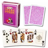 Wholesale XF Italy  Modiano Texas Holdem 2 Jumbo Index|purple Single Card Deck|100% Plastic Poker|Poker Analyzer|Contact lens from china suppliers
