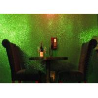 Wholesale Light Green Glitter Wallpaper For Bedroom , Craft 3d Glitter Wallpaper from china suppliers