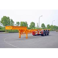 Wholesale Gooseneck 40ft Container Trailer Chassis , ISO Tank Containers Semi Trailer from china suppliers