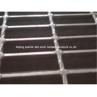 Wholesale Rain Drainage Open Steel Floor Grating , Industrial Galvanized Walkway Grating from china suppliers