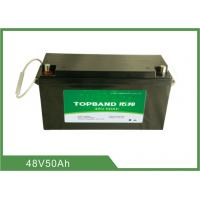Wholesale 48V 50AH Deep Cycle Lithium Battery , Rechargeable Lithium Batteries from china suppliers