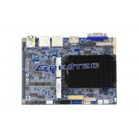 Quality Dual LAN Industrial Micro Pc Motherboard 6 RS232 24BIT LVDS , HDMI , VGA Display for sale