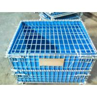 Wholesale PP Board Protection Cover Wire Mesh Container For Small Parts Completeness from china suppliers