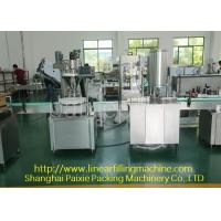 Wholesale Easy Cleaning Glass Bottle Filling Machine 0.8 Kw Chinese Or English Use from china suppliers