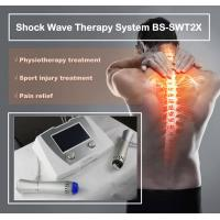 Wholesale Excellent Back Pain Relief Shockwave Therapy Machine , Shockwave Physiotherapy Machine from china suppliers
