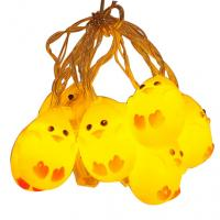 Wholesale Cute yellow chicken led fairy string from china suppliers