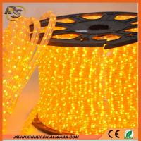 Wholesale DS New Design Transparent PVC 11*18mm Flat 3 wires Flex LED Rope Light from china suppliers