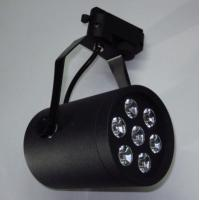 Wholesale High Power Matt Black Epistar 35mil 7W LED Track Light Fixtures CE, RoHS, CCC Approval from china suppliers