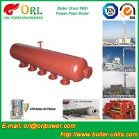 Wholesale Oil-fired ISO9001 SA516GR70 Boiler mud drum with Natural Circulation from china suppliers