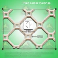 Wholesale Picture frame decorative corner moulding for interior wall decor from china suppliers
