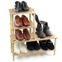 Wholesale Unique Design Storage Rack Shelf Wood Shoe Storage Unit Organiser Bedroom Shelving Units from china suppliers
