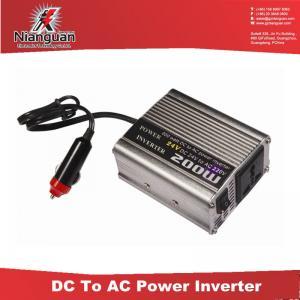 Buy cheap 200W 24V to220V Power Inverter / Power Inverter Supplier / Manufacturer of Power Inverter from wholesalers
