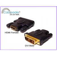 Wholesale 12.5+ Gbps corrosion resistance HDMI Female Adapter DVI-D 18+1 pin Male to 19 pin Female from china suppliers