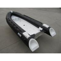 Buy cheap 480Cm Long Frp Rigid Inflatable Rib Boat , 8 Person Inflatable Boat With Locker Console from wholesalers