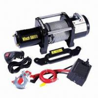 Wholesale Electric Winch, 218:1 Gear Reduction Ratio, Sliding Ring and Gear Clutch from china suppliers