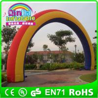 Wholesale Attractive Advertising inflatable arch ,customized arch like rainbow arch from china suppliers