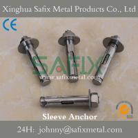 Buy cheap Sleeve Anchor with Hex Nut/ Anchor Bolt/ Stainless Steel 304(A2) 316L(A4) Stone Cladding from wholesalers