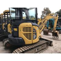 Wholesale Mini Used KOMATSU Excavator PC30MR-2 ,  Komatsu 3.5 Ton Excavator Enclosed Cabin from china suppliers