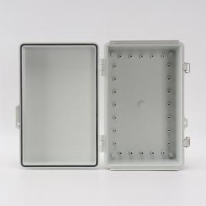 Wholesale Junction Box Abs Hinged Plastic Enclosures For OT Sensors 300x200x130mm from china suppliers