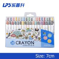 Wholesale Multi Colored Crayons Short Twist Up Crayons 11cm 3 Years Shelf Life from china suppliers