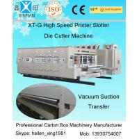 Wholesale Auto Slotting Flexo Printer Slotter Die Cutter Machine For Corrugate Board from china suppliers