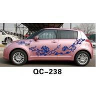Quality Nontoxic Car Body Sticker QC-238L / Novelty Car Decoration for sale