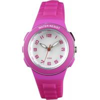 Buy cheap Colorful Kids analog watches EL light Y121E movement round children plastic watches from wholesalers