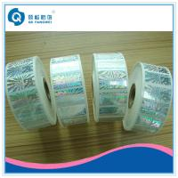 Wholesale Roll Hologram Labels , Custom Hologram Stickers , Anti-fake 3d Hologram Roll Label from china suppliers