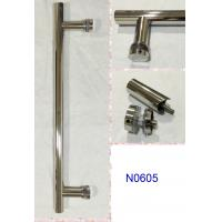 Wholesale SUS304 Polished Chrome shower handle / glass door handle N0605 from china suppliers