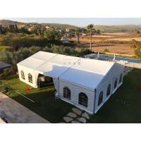 Wholesale 12mX21m Outdoor Event Tents Popular Waterproof  Fiire Retardant  White With Windows from china suppliers