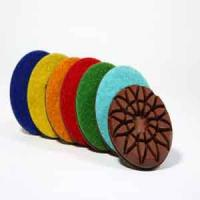 Wholesale Roese shape floor polishing pads from china suppliers