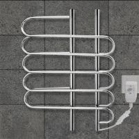 Wholesale CUSTOMIZED   80w Stainless Steel Wall Mounted Electric Heated  Towel rail For washroom from china suppliers