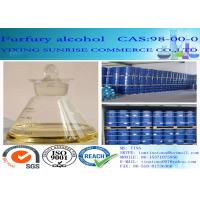 Quality Furfuryl Alcohol Foundry Chemicals CAS 98-00-0 Colorless To Light Yellow Transparent Liquid for sale