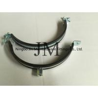 Quality EPDM Rubber Heavy Duty Pipe Clamps Pipe Fixation With Zinc Plating Surface for sale