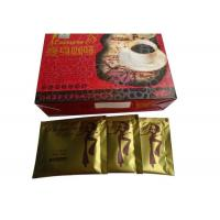 Wholesale Multi Vitamins Natural Lose Weight Coffee , Leisure 18 Slimming Coffee Gold from china suppliers